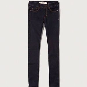 NWOT Abercrombie and Fitch super skinny rinse